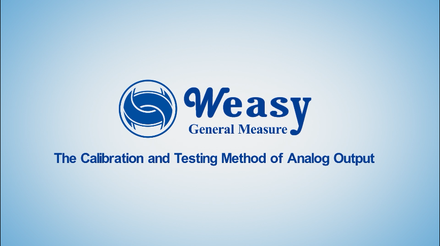 The Calibration and Testing Method of Analog Output
