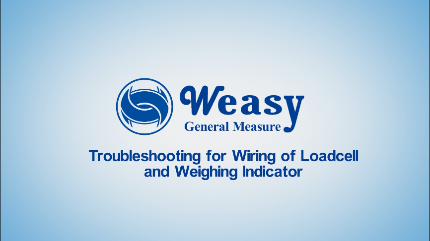 How to Connect the Loadcell with Weighing Indicator